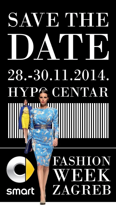 SMART FASHION WEEK ZAGREB - SAVE THE DATE 1